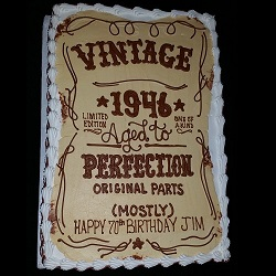Groovy Adult Birthday Cake Pictures The Boarding House Cake Decorating Funny Birthday Cards Online Alyptdamsfinfo